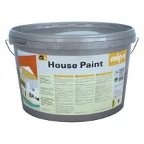 mipa House-Paint Universalfarbe für innen und außen, weiß, 5 oder 10 Liter.