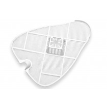 Urinalsieb / Schutzsieb mit Körbchen, groß 31 cm, (4 Stück)