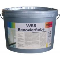 mipa WBS Renovierfarbe für stark verschmutzte Innenwandflächen, weiß, 10 Liter