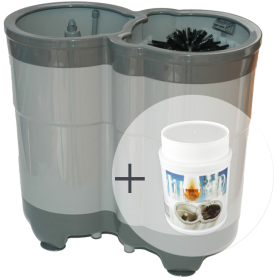 Kombi-Paket Compact Einsteiger: 1x Gläserspüler Compact + 1x Spültabs