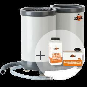 """Einsteiger-Paket """"TWIN-GoT Portable"""": 1 x Original Spülboy® TWIN-GoT Portable + Vorteilsreinigungsset"""