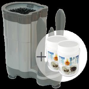 ECO Comfort Sparpaket: 1x  Gläserspüler Comfort + 2x Spültabs