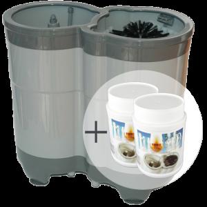 ECO Compact Sparpaket:  1x Gläserspüler Compact + 2x Spültabs
