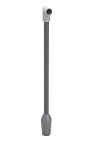 Einlaufrohr mit Winkelstück und Rückschlagventil für Orig. Spülboy Neptun T2000
