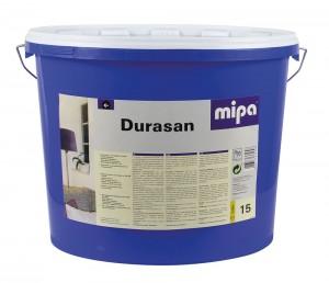 mipa Durasan, hochwertige Dispersionsfarbe für innen, weiß, 15 Liter